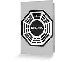 LOST: Dharma Logo Greeting Card