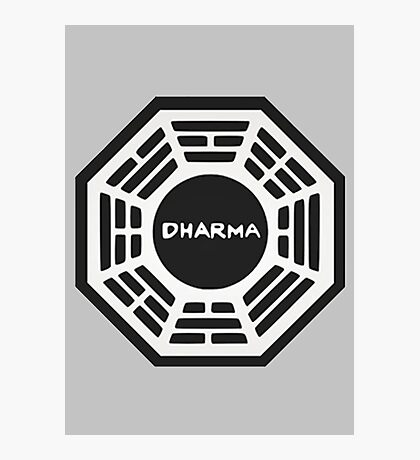 LOST: Dharma Logo Photographic Print