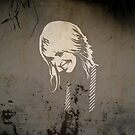 Girl On The Wall by levywalk