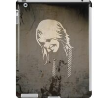 Girl On The Wall iPad Case/Skin