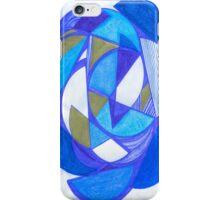 Blue Circles iPhone Case/Skin