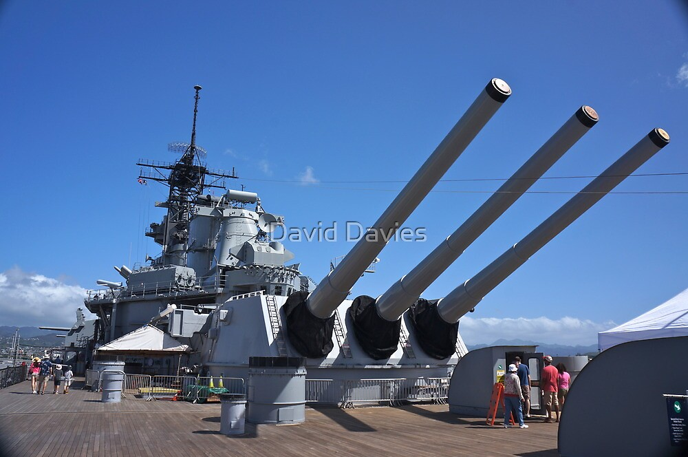USS Missouri by David Davies