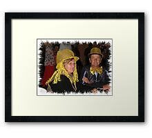 Cup day dress up winners Framed Print