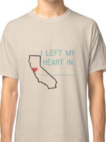 I Left My Heart Classic T-Shirt