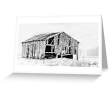 This old barn. . .  Greeting Card