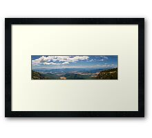 Vista of the Ovens Framed Print