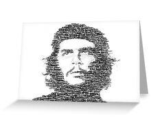 Ernesto Che Guevara Greeting Card