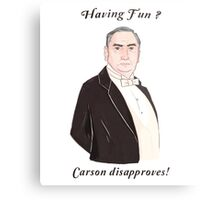 Carson Disapproves!  Metal Print