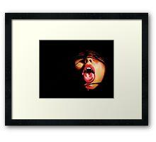Hunger for Blood Framed Print
