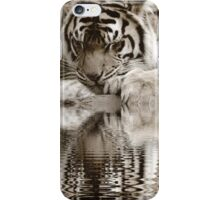 Lost in the reflection iPhone Case/Skin