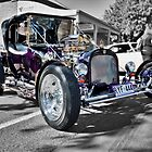 Purple T Bucket Hot Rod by Ferenghi