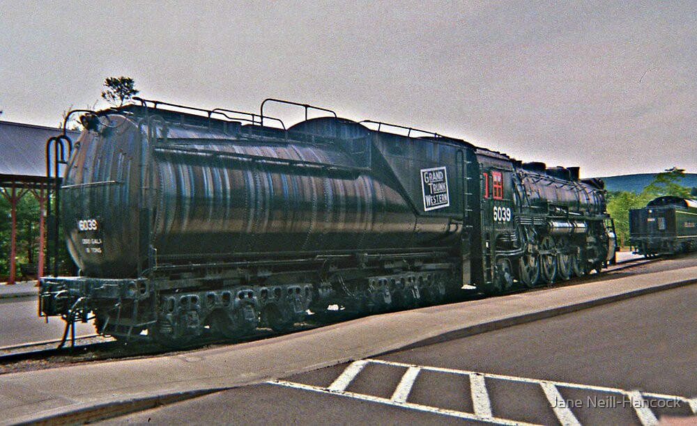 Grand Trunk Western, Steamtown, PA by Jane Neill-Hancock