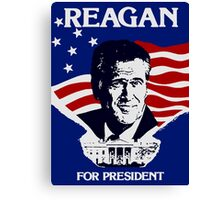 Reagan For President Canvas Print