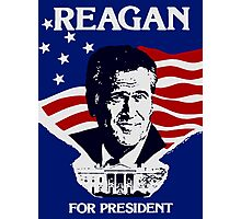 Reagan For President Photographic Print