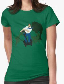 Jurassic Blart Womens Fitted T-Shirt