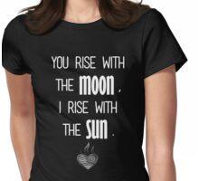 Zutara Quote Womens Fitted T-Shirt
