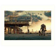 Fallout 4 - The Wanderer Art Print