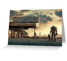 Fallout 4 - The Wanderer Greeting Card