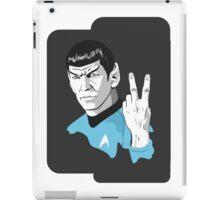 Star Trek Spock obscene hand gesture iPad Case/Skin