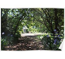 Brickenden -  through dappled light to the House Poster