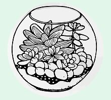 Fred the Succulent by Sangavi Manickavel