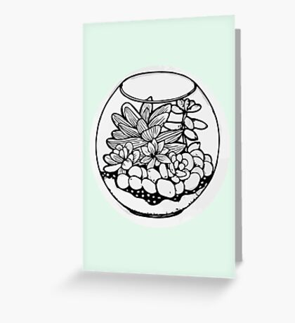 Fred the Succulent Greeting Card