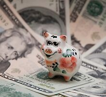 Small pig, big dollar. by Ekaterina Panova