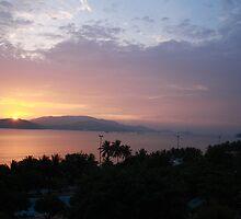 Violet sunrise #1 by MomoYeuSunny