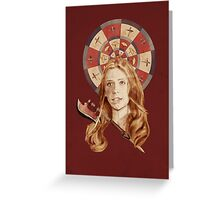 Buffy Greeting Card