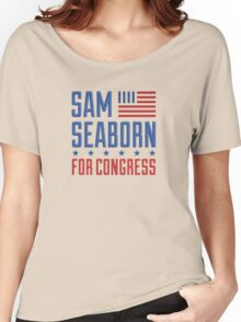 Sam Seaborn For Congress Women's Relaxed Fit T-Shirt