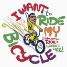 Freddie's Bicycle by Andy Hook