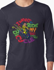 Freddie's Bicycle Long Sleeve T-Shirt