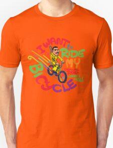 Freddie's Bicycle Unisex T-Shirt