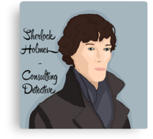 Sherlock Holmes - Consulting Detective Canvas Print