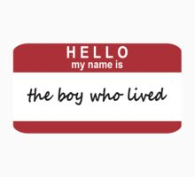 Hello, My Name Is The Boy Who Lived by rexannakay