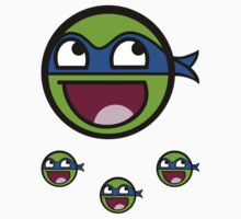 Cowabunga Buddy Squad: Leonardo - Sticker by Cowabunga