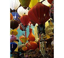 Hoi Ann Lanterns Photographic Print