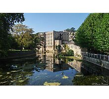 Waterway of Little Bath Photographic Print