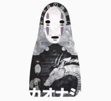 No Face Bathhouse  One Piece - Short Sleeve