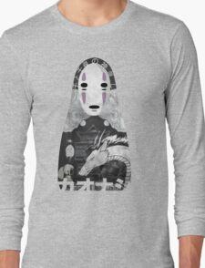 No Face Bathhouse  Long Sleeve T-Shirt