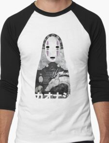 No Face Bathhouse  Men's Baseball ¾ T-Shirt