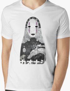No Face Bathhouse  Mens V-Neck T-Shirt