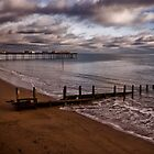 Teignmouth Beach and Pier by Jay Lethbridge