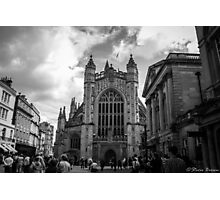 The busy streets of Bath Photographic Print