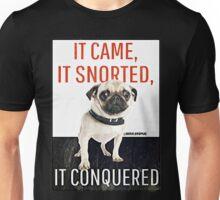 Beware of Pug! Unisex T-Shirt