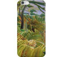 Henri Rousseau - Surprised iPhone Case/Skin