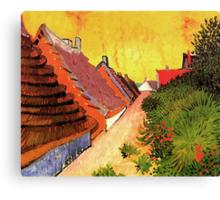Street in Saintes Marie, Vincent van Gogh.   Canvas Print
