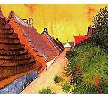 Street in Saintes Marie, Vincent van Gogh.   Photographic Print