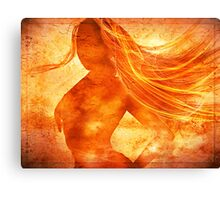 Elemental Mysteries 1 - Born of Fire Canvas Print