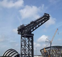 Old Crane and New Crane by Stevie B